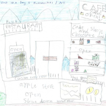 Lara, Year 1 - Shopping Unit
