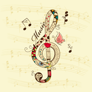 83565814_treble_clef_music_background