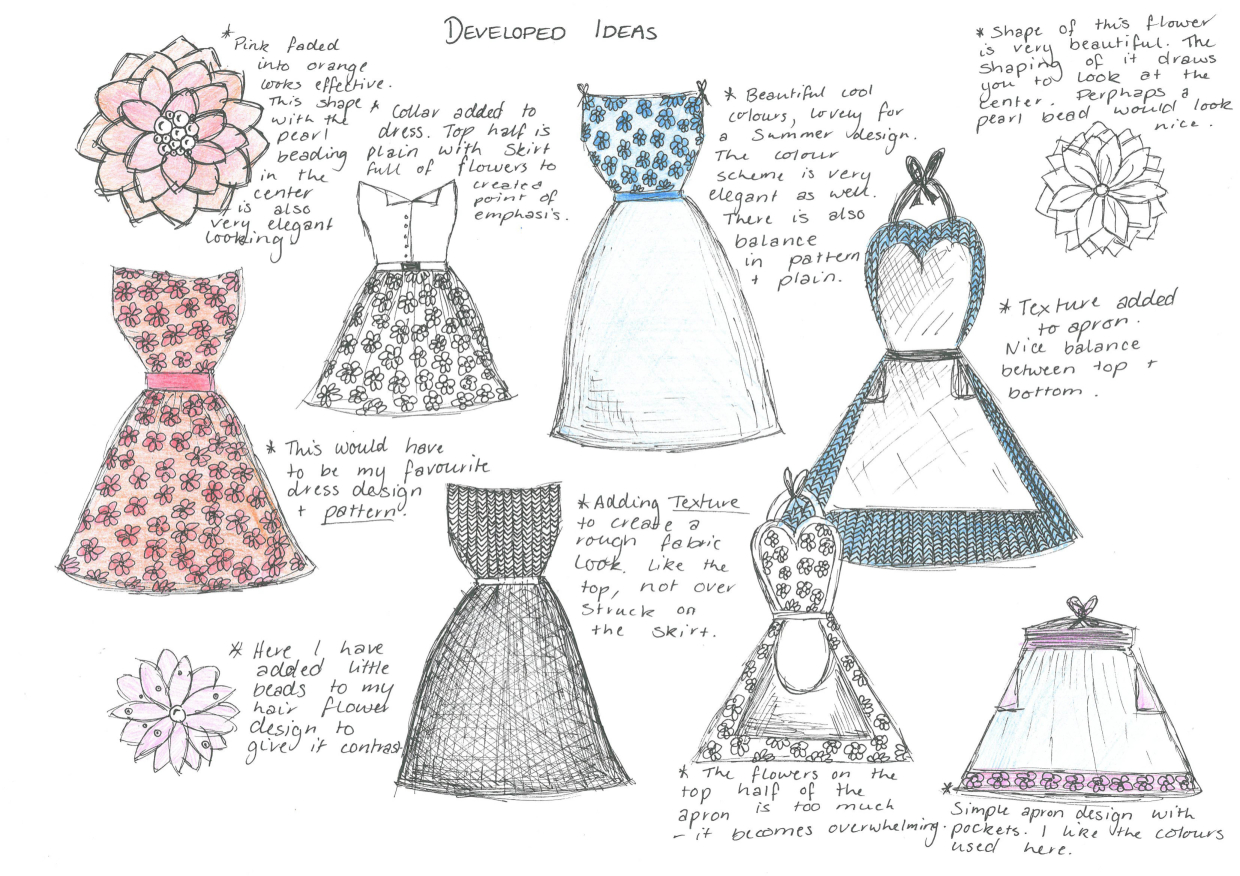 Elements Of Design In Clothing : Making clothes material related keywords