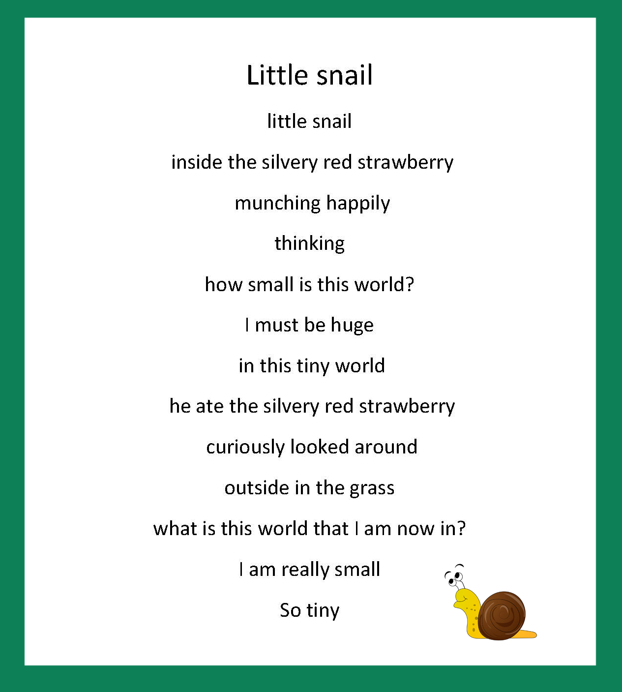 Virtual School Victoria » Year 4 Poetry
